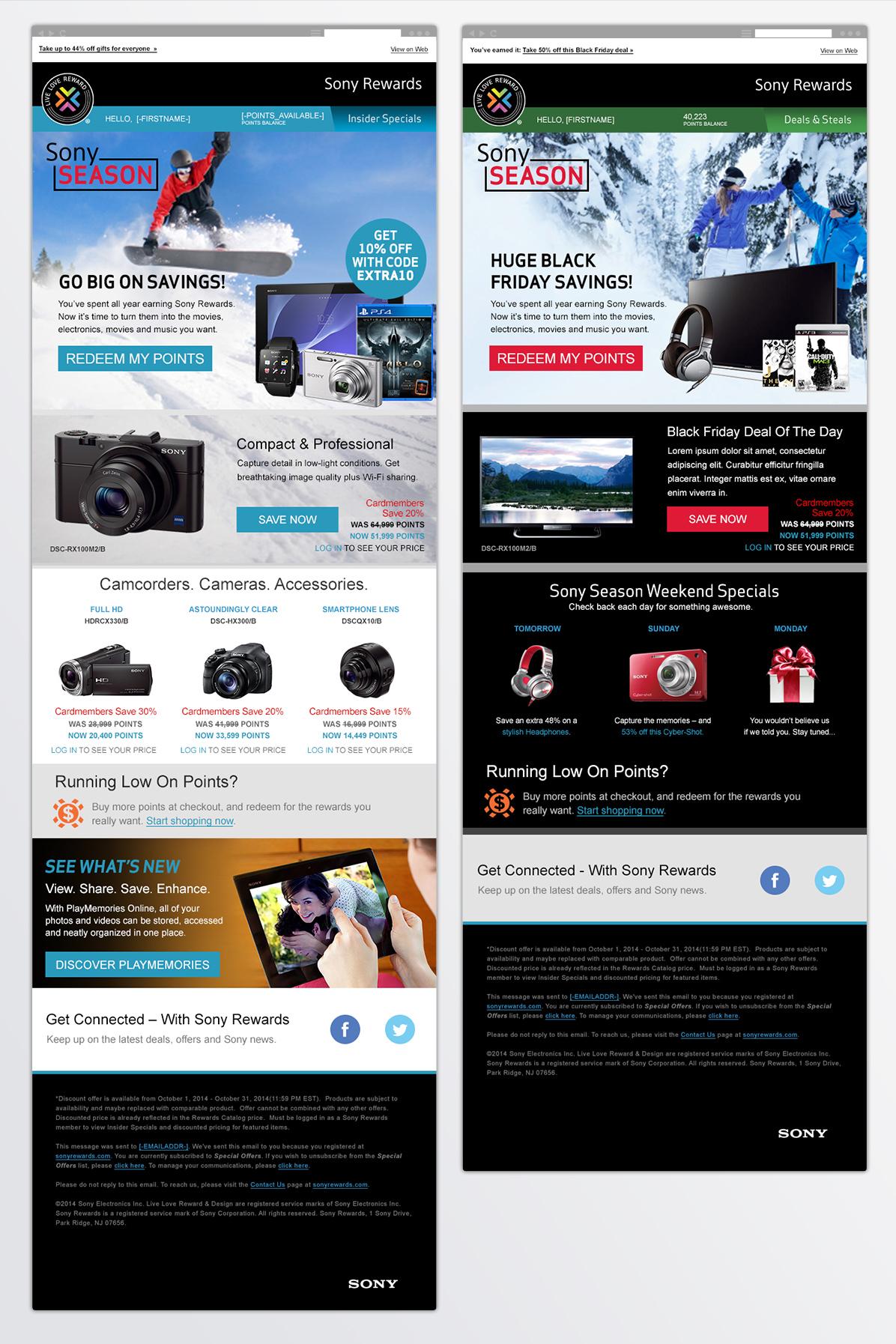 Sony Rewards It's Sony Season | Van Meter Group, Inc