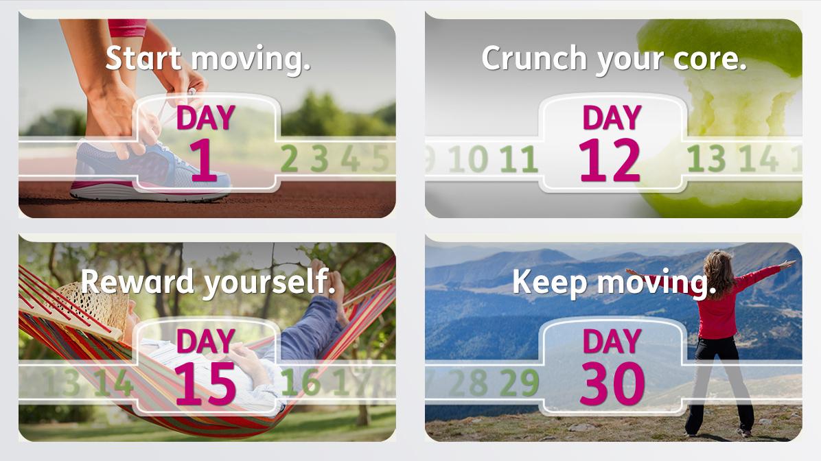 Humana <br> Get Moving Challenge-3